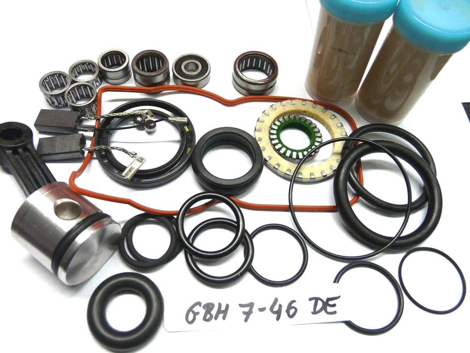 Bosch GBH 7-46 DE , Reparatursatz, Verschleissteilesatz + Hammerkolben