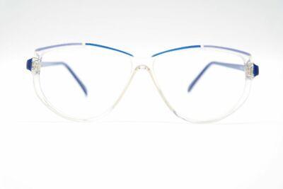 Affidabile Vintage 60er Anni 3189 57 [] 13 140 Blu Trasparente Ovale Occhiali Montatura-mostra Il Titolo Originale