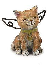 Cat Bereavement Faithful Angel Memory Memorial Pet Figurine Statue Loss Gift