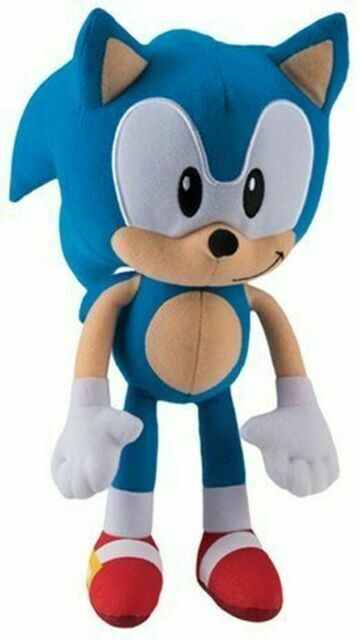 Super Sonic The Hedgehog Classic 29cm Plush Toy For Sale Online Ebay