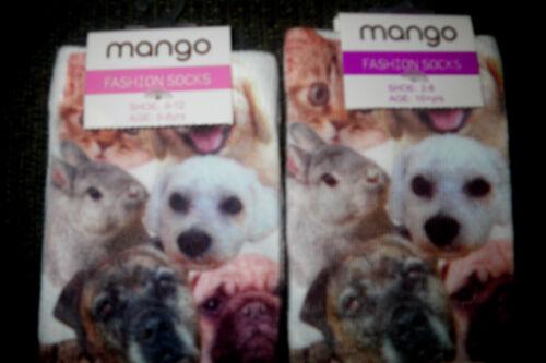 Quality Soft  9-12 13-3 2-8 Soft Quality Dog Cat Kitten Rabbit Lover Socks