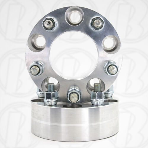 """Wheel Adapters USA 5x120 to 5x115 Fits Land Rover 2/"""" Spacers2pc USA"""