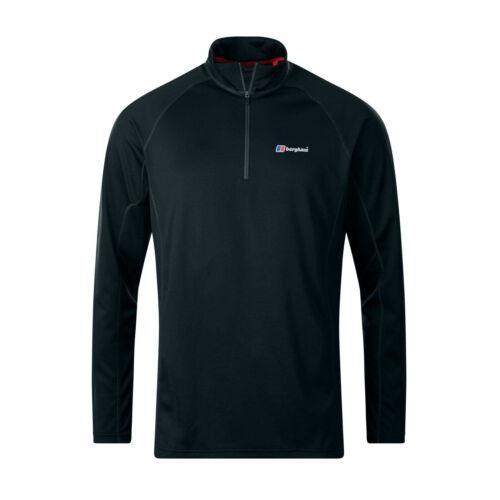 Berghaus Tech 2.0 1//2 Zip Mens Long Sleeve Base Outdoor T-Shirt