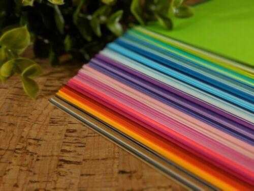 "Choose Color /& Quantity! Premium Quality 8.5/"" x 11/"" CARDSTOCK PAPER 65 lb"