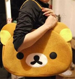 Rilakkuma-bear-San-X-Cute-Big-Bag-Women-Men-039-s-Handbag-Brown-Bag-gift