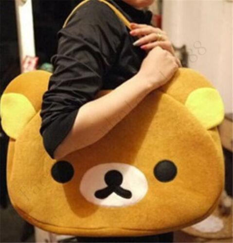 Rilakkuma Bear San-X Cute Big Bag Women//Men/'S Handbag Brown Bag Birthday Gifts