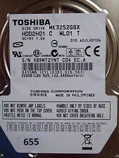 320gb Toshiba mk3252gsx hdd2h01 C wl01 T | lv010a #655