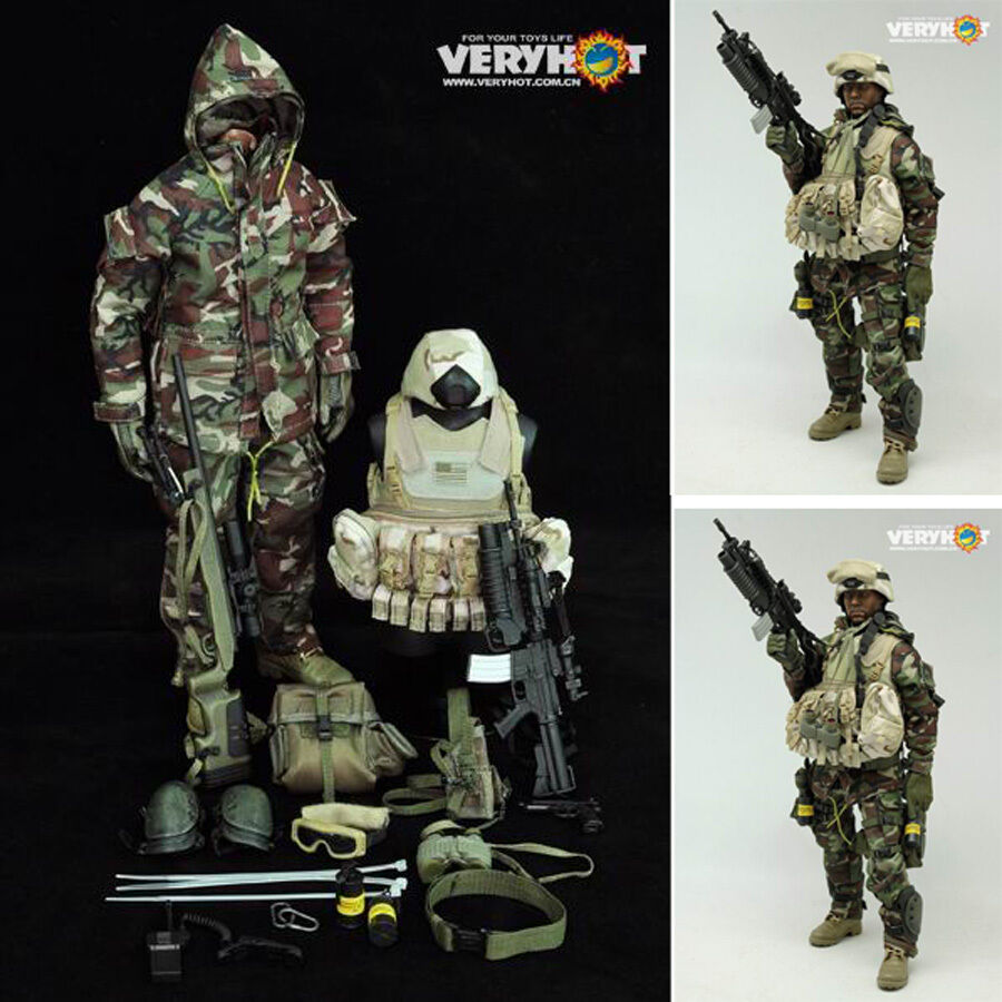caliente cifra giocattoli 16 VH verycaliente 1010 Woodle camouflage snipers