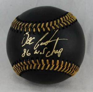 Doc-Gooden-Autographed-Rawlings-OML-Black-Baseball-With-86-WSC-JSA-W-Auth