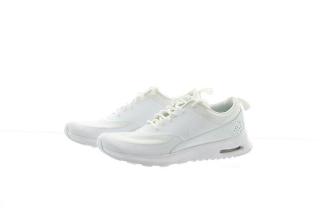 brand new 11697 0fe42 Nike Air Max Thea Womens 599409-104 White Textile Running Sh