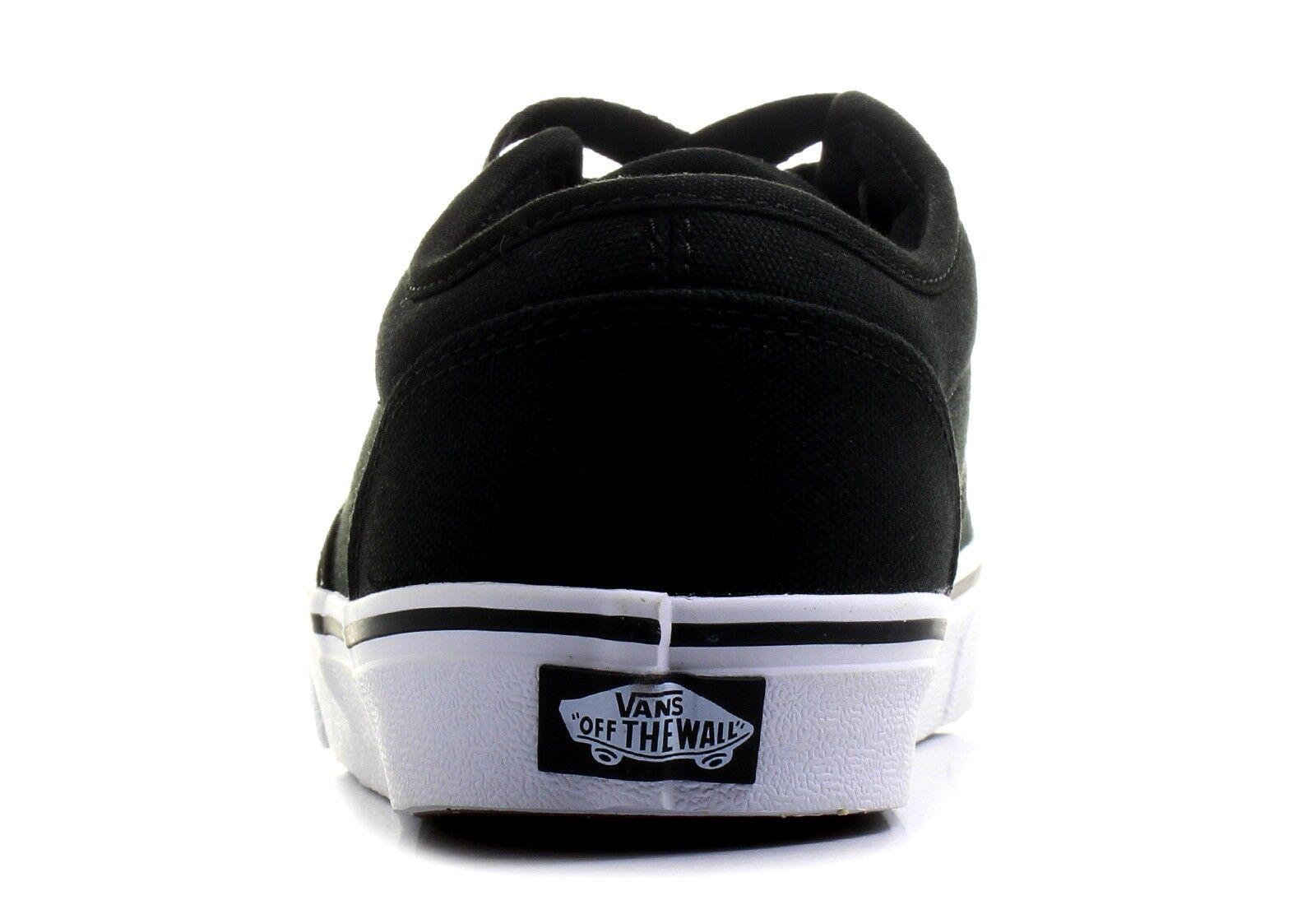 Vans Atwood Scarpe Da Uomo Vulcanizzata Scarpe Da Scarpe Ginnastica Da Skate Nero/Bianco Taglie: e22b10