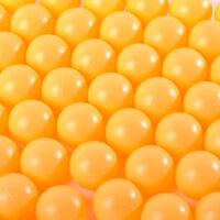 50pcs Hot Wholesale Budget Plastic Table Tennis Ping Pong Balls Training Sports