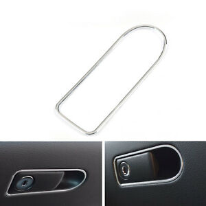 Auto-Interior-Handschuh-Box-Schalter-Rahmen-Trim-Fuer-Benz-C-class-W205-Silber-A3