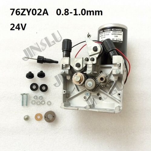 76ZY-02A Mig Wire Feed Welder Motor Machine DC24 0.8-1.0mm 2.0-18m//Min 1PK