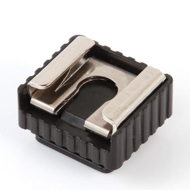 "1/4"" Screw Speedlite Flash Cold Hot Shoe Mount Adapter For Canon Nikon Pentax"