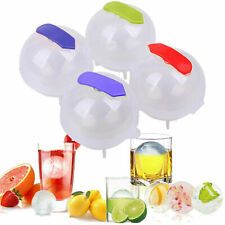 4pcs Round Ice Cube Ball Maker Sphere Molds Tool For Whisky Party Cocktails