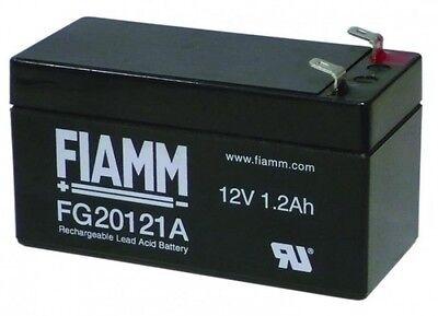 Batteria Fiamm Fg20121a 12v 1,2a Piombo Gel Ermetica 1.3ah Ricaricabile 13,8v