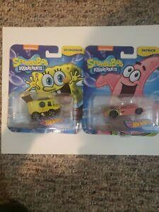 New-Sealed-Hot-Wheels-Cars-SPONGEBOB-Squarepants-and-Patrick-Nickelodeon