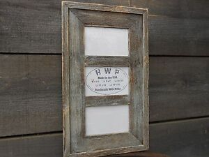 Rustic-Barn-Wood-Collage-Picture-Frame-8-Color-Choices-3-Sizes