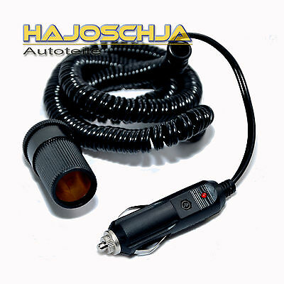 Spiral cable Extension cable Cigarette Lighter Socket car truck Power cable