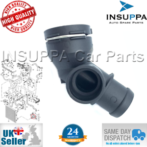 RADIATOR-COOLANT-FLANGE-HOSE-FOR-VW-BEETLE-CADDY-GOLF-JETTA-PASSAT-1K0122291AD