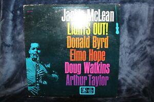 Jackie McClean - Lights Out LP Vinyl Prestige PRST 7757, Play Tested VG+