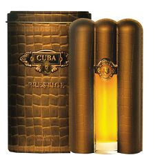 Cuba Prestige Men's Perfume by Parfums des Champs Eau de Toilette 90ml
