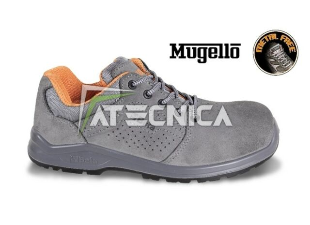 Safety shoes Beta 7211PG Mugello perforated transpiring suede