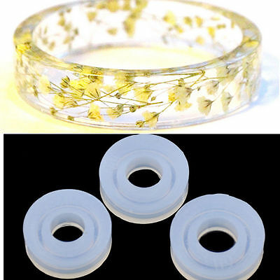 DIY Silicone Pendant Mold Making Jewelry Gem Bead Ring Resin Casting Mould Craft