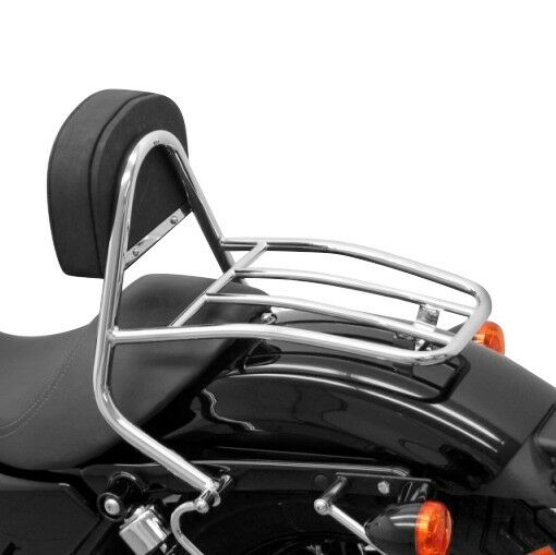 Sissy Bar + portapacchi per Harley Davidson Sportster 883 Superlow XL 883 L 11-18