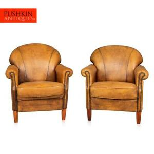 LATE-20TH-CENTURY-PAIR-OF-DUTCH-SHEEPSKIN-LEATHER-CLUB-CHAIRS