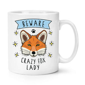 Attention-Fou-Fox-Femme-284ml-Tasse-Drole-Animal