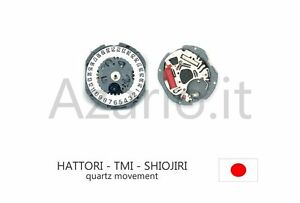 Bon CœUr Movimento Al Quarzo Hattori Vj12 Data 6 Movement Quartz Shiojiri Tmi Watch Japan