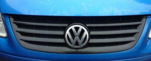VW Touran 2003-2006 Rejilla Insignia-Negro Mate