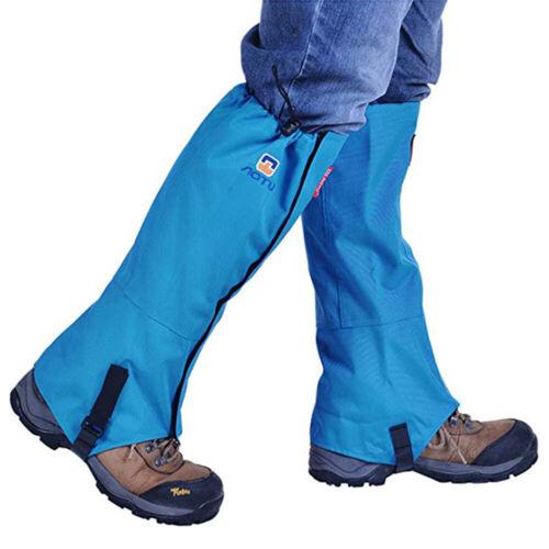 Outdoor Hiking Hunting Snow Sand Waterproof Legging Gaiters Ski Shoes Leg Covers