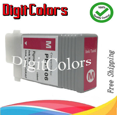 12 Color PFI-106 pigment Ink Cartridges for Canon iPF 6400se 6400s 6400 6450