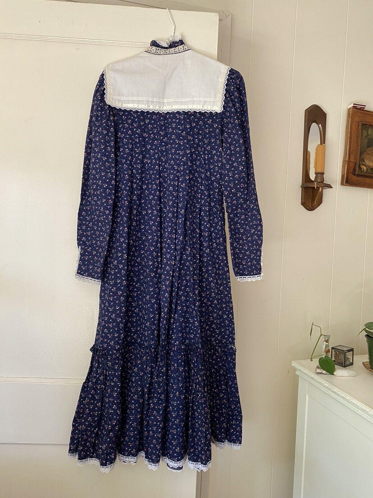vintage gunne sax prairie dress (size 9) - image 2