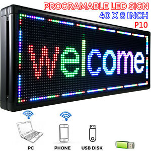 High Impact, Energy Efficient Sale LED Sign