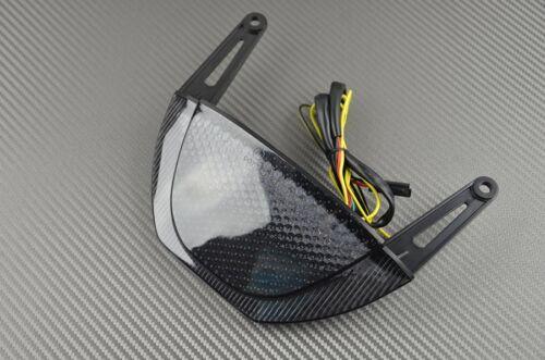 Feu arrière fumé clignotant intégré tail light Honda cbr 600 rr 600rr 2010 11 12