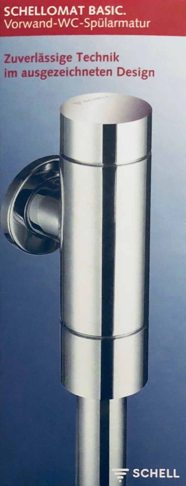 schell 022470699 schellomat basic robinet de chasse pour wc | ebay