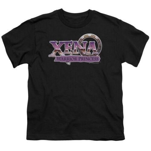 Xena Warrior Princess Show Logo Licence Garçons /& Filles T-Shirt S-XL