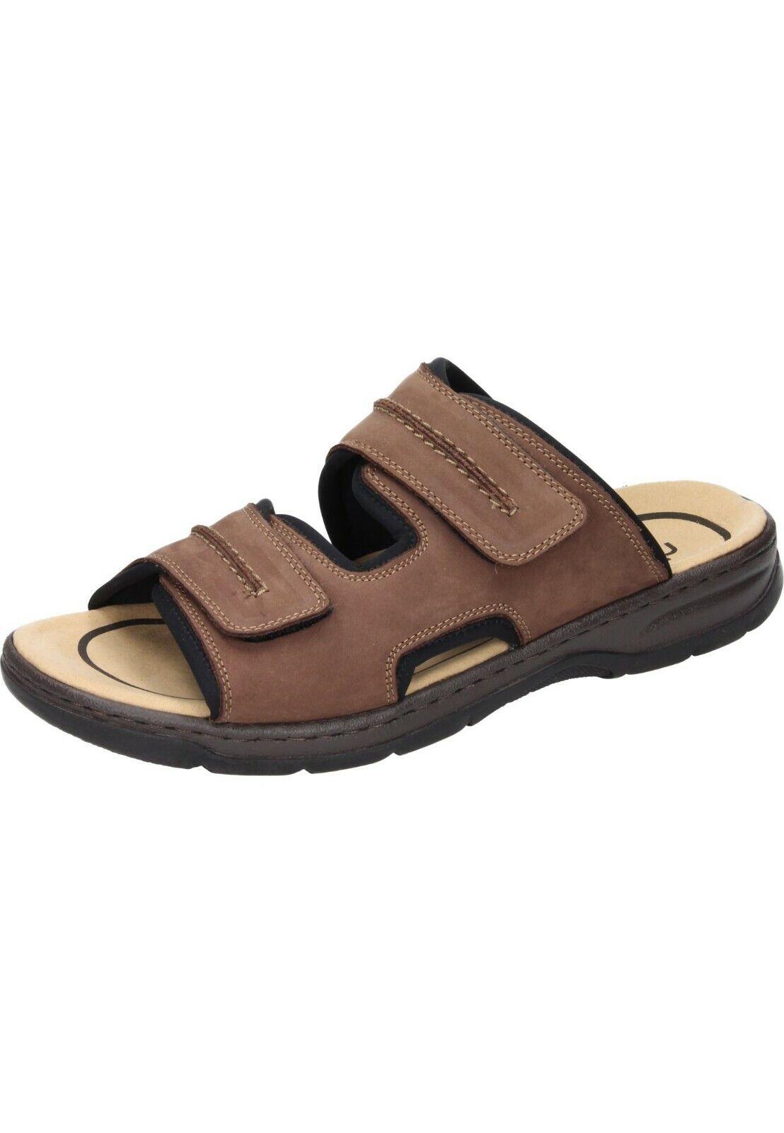 Rieker sandalias de cuero sandalias zapatos caballero marrón 40-46 26268-25 neu19