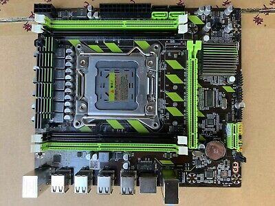 Ysswjzz Motherboard,X79M2 2.0 DDR3 Desktop Computer Game Mainboard Support for LGA 2011 Pin Series Processor