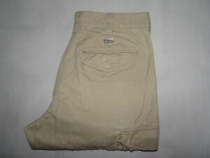 Timberland-Para-Hombres-Jeans-Pantalones-tipo-cargo-de-combate-de-color-beige-talla-W32-L32-Cintura