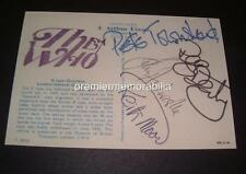 THE WHO PETE TOWNSHEND ROGER DALTREY KEITH MOON JOHN ENTWISTLE SIGNED (PRINTED)