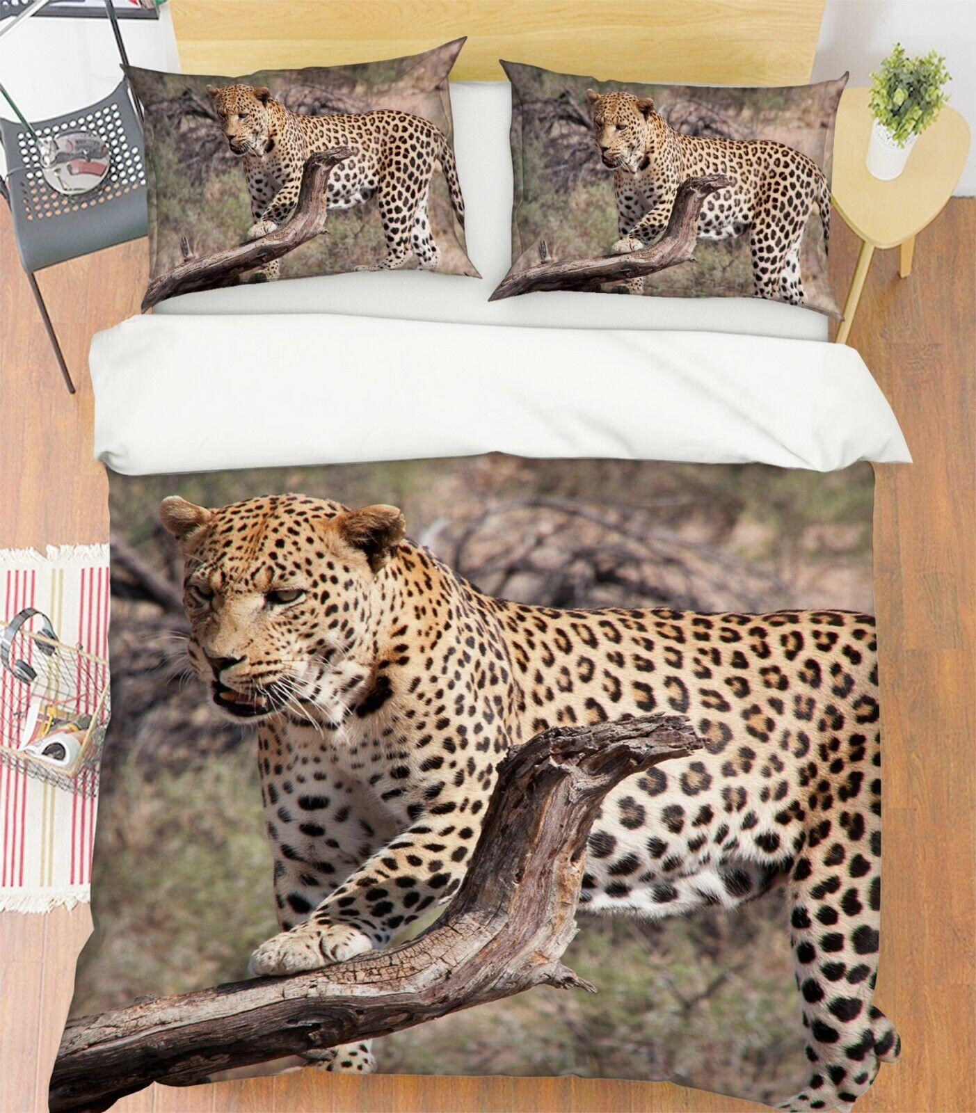 3D South Africa H91 Tier Bett Kissenbezüge Decke Bettdecke Abdeckung Set Angelia