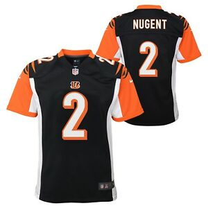 Mike Nugent Cincinnati Bengals NFL Nike Youth Black Game Jersey | eBay