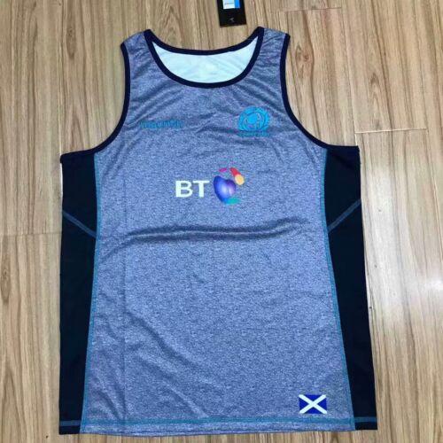 SCOTLAND 2019 rugby shirt singlet sleeveless S-3XL