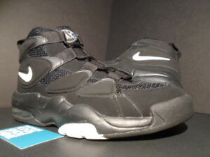 1acdfa5f76d3e6 2011 NIKE AIR MAX UPTEMPO 2 II TEMPO BLACK WHITE SHADOW GREY 1 CB ...