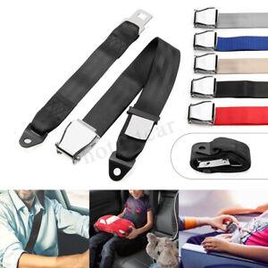 Adjustable Airplane Seat Belt Extension Extender Airline